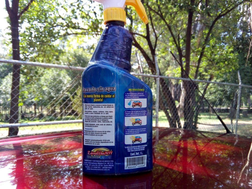 Lions Wax MF1 ULTIMATE Lavado en seco y encerado. Limpieza profesional calidad internacional